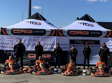 thumbnail_Photo 2- TAG Motorsport CRG drivers in their karts at Mont-Tremblant last September,jpg